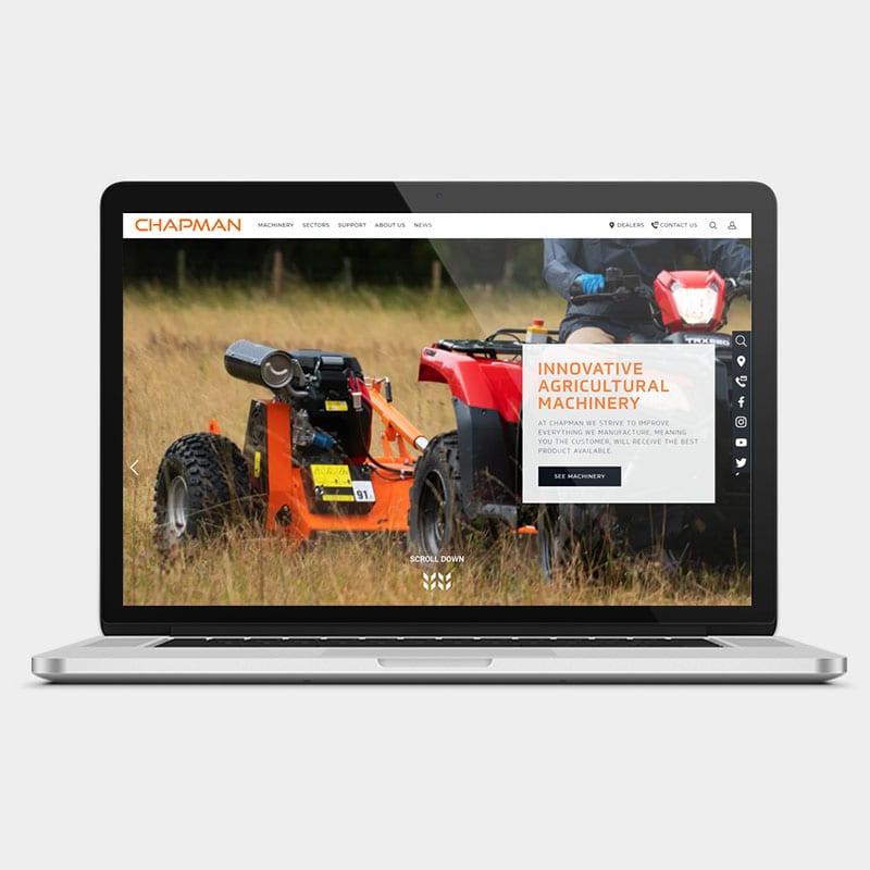 Chapman Machinery Website 1