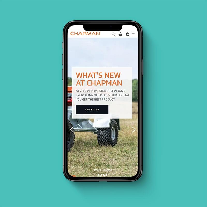 Chapman Machinery Website 2
