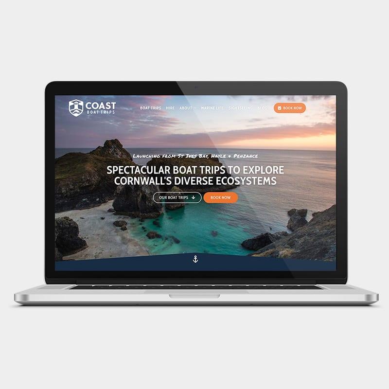 Coast Boat Trips Website 1