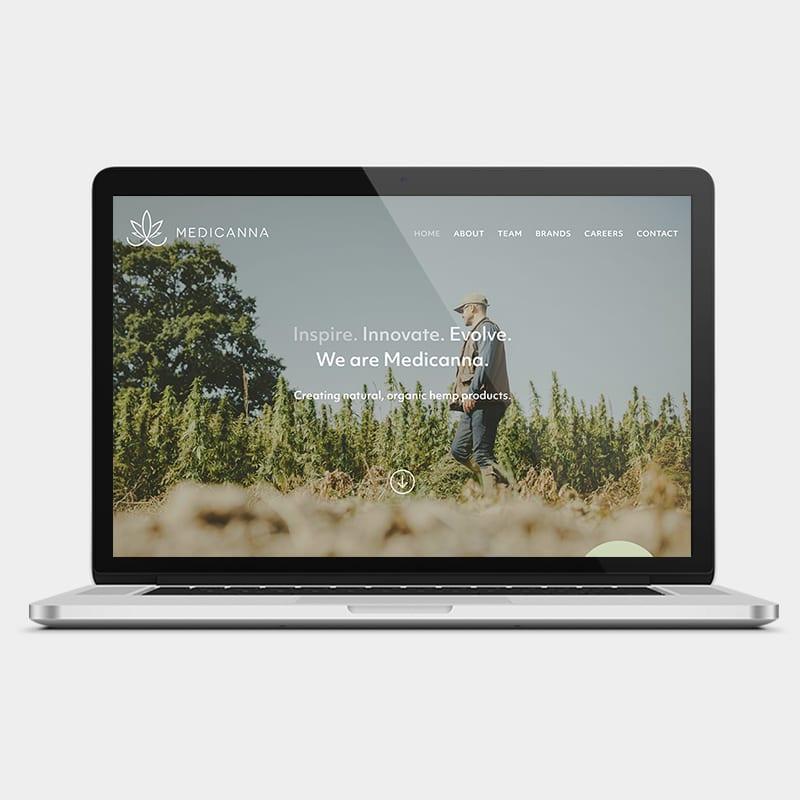 Medicanna Website 1