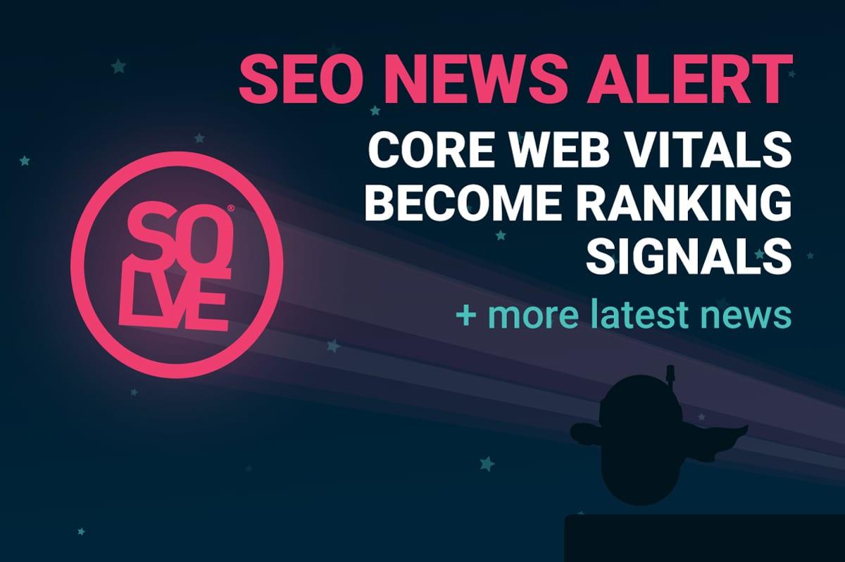 SEO ALERT core web vitals