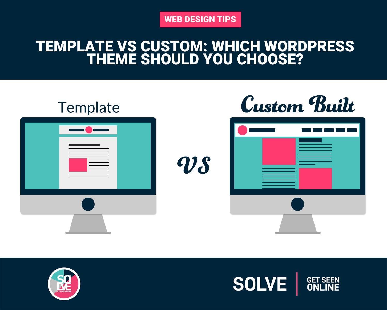 Template vs Custom Built theme - Cover