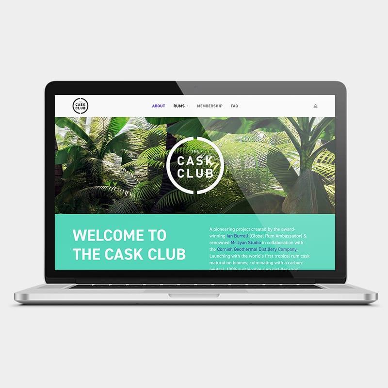 The Cask Club Website 1