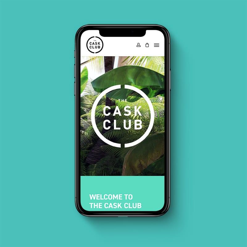 The Cask Club Website 2