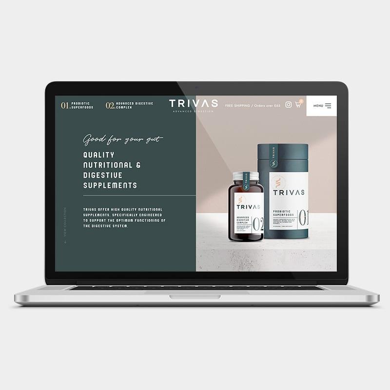 Trivas Website 1