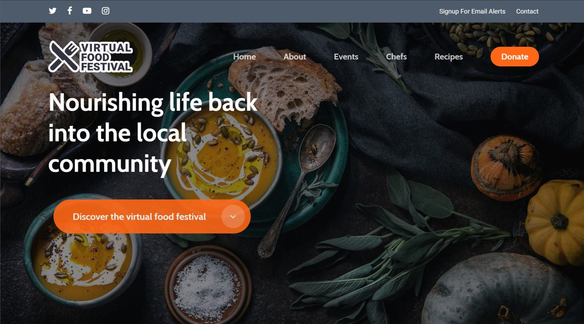 Virtual Food Festival: The Thriving Online Culinary Community 1