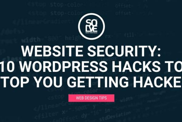 Website Security: <br>10 WordPress Hacks to Stop You Getting Hacked 9