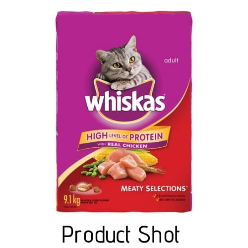 cat food product shot