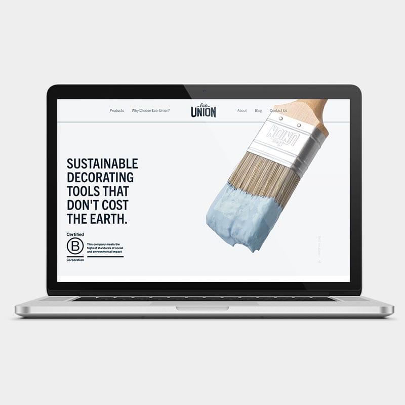 Eco-Union Website 1