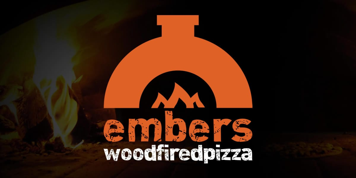 embers pizza logo