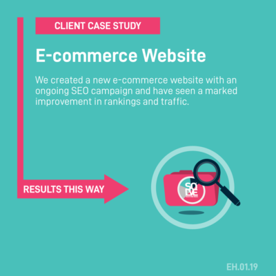 Client case study a new e-commerce website