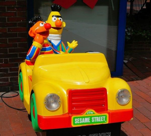 Bert & Ernie from Sesame Street