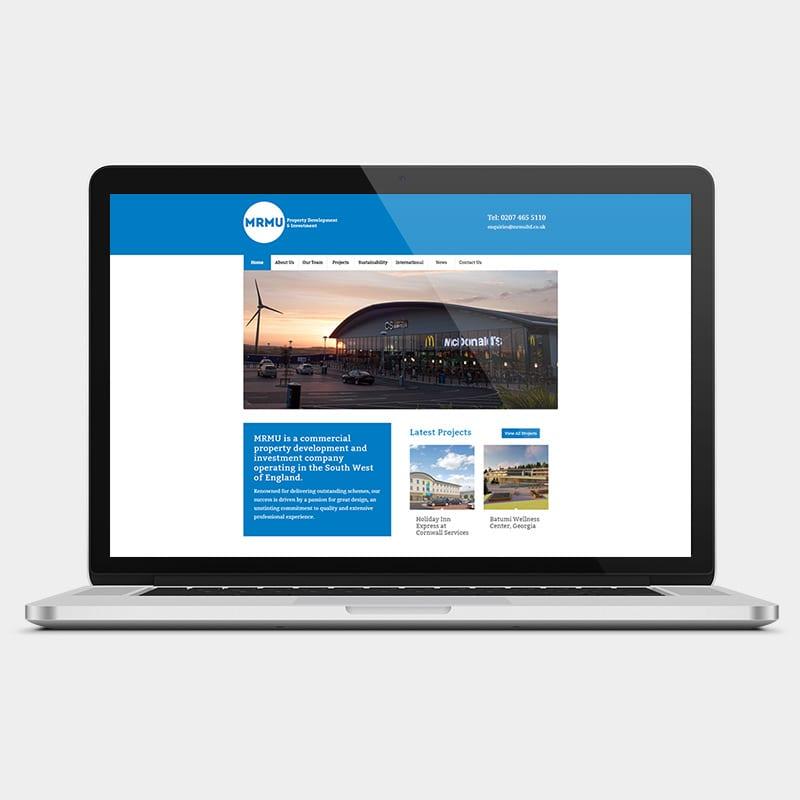 MRMU Ltd laptop example by solve web media