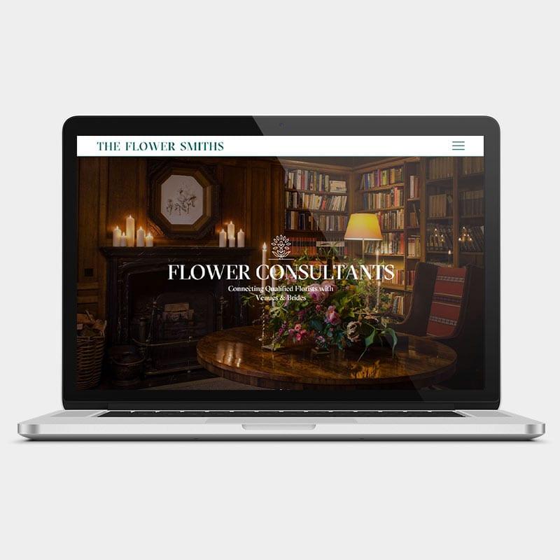 The Flower Smiths Website 1