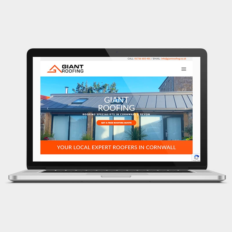 Giant Roofing Website 1