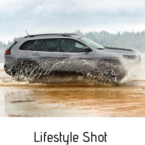 lifestyle car shot