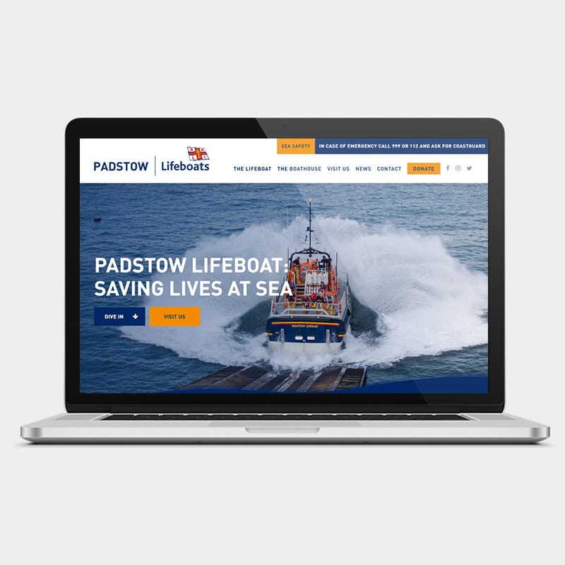Padstow Lifeboats Website 1