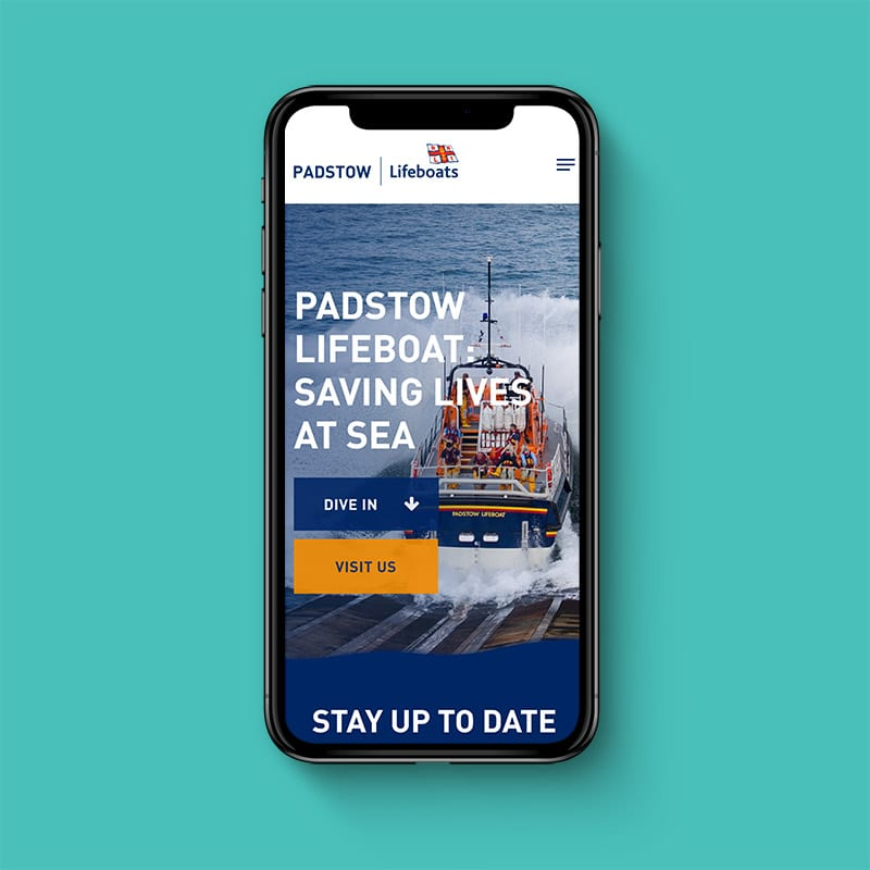 Padstow Lifeboats Website 2