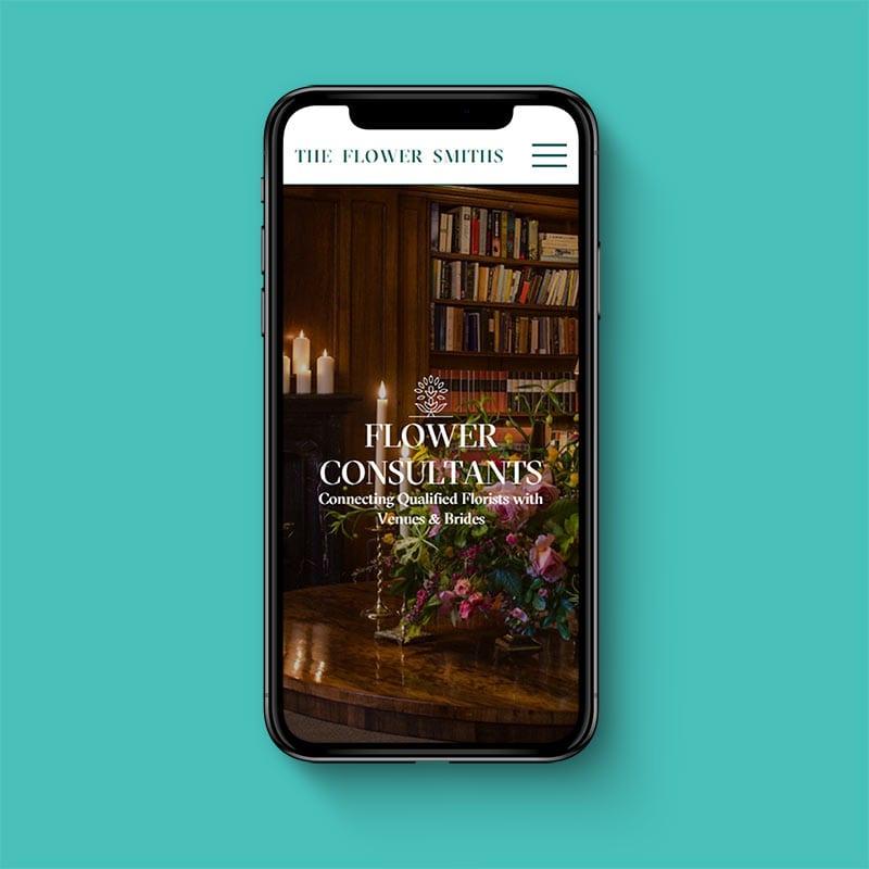 The Flower Smiths Website 2