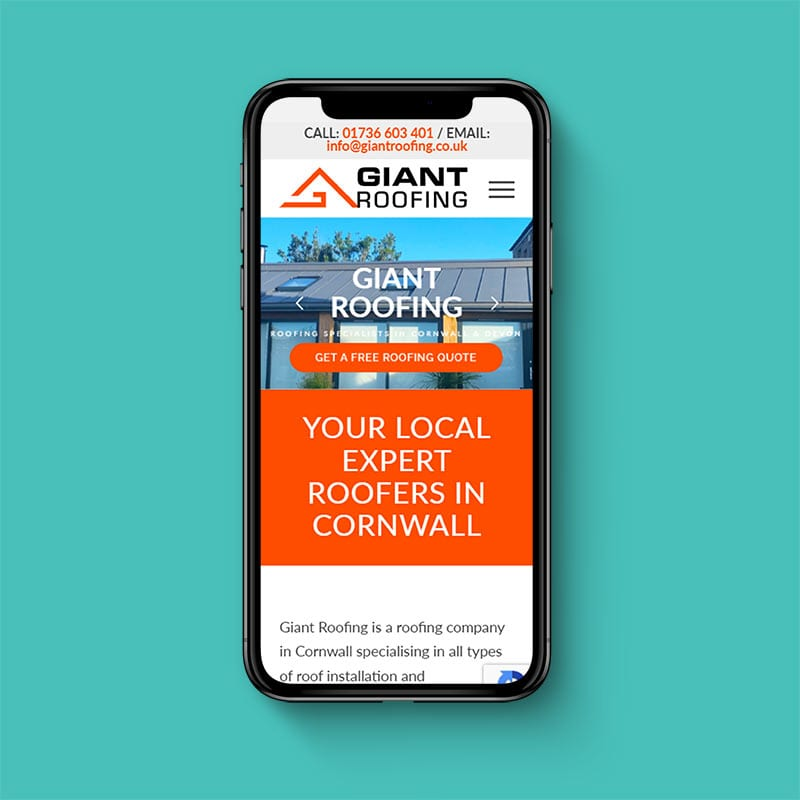 Giant Roofing Website 2