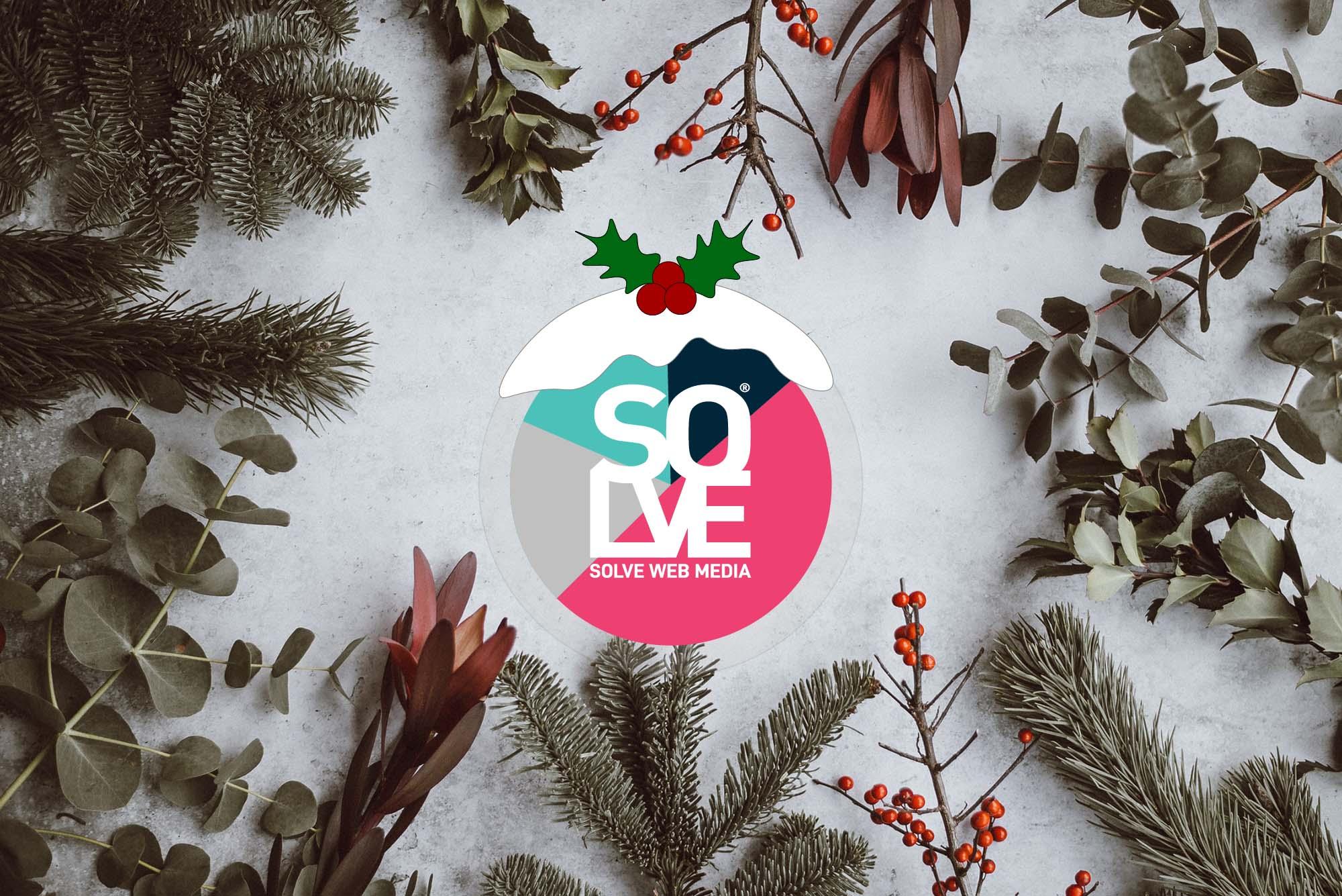 Solve Christmas Banner