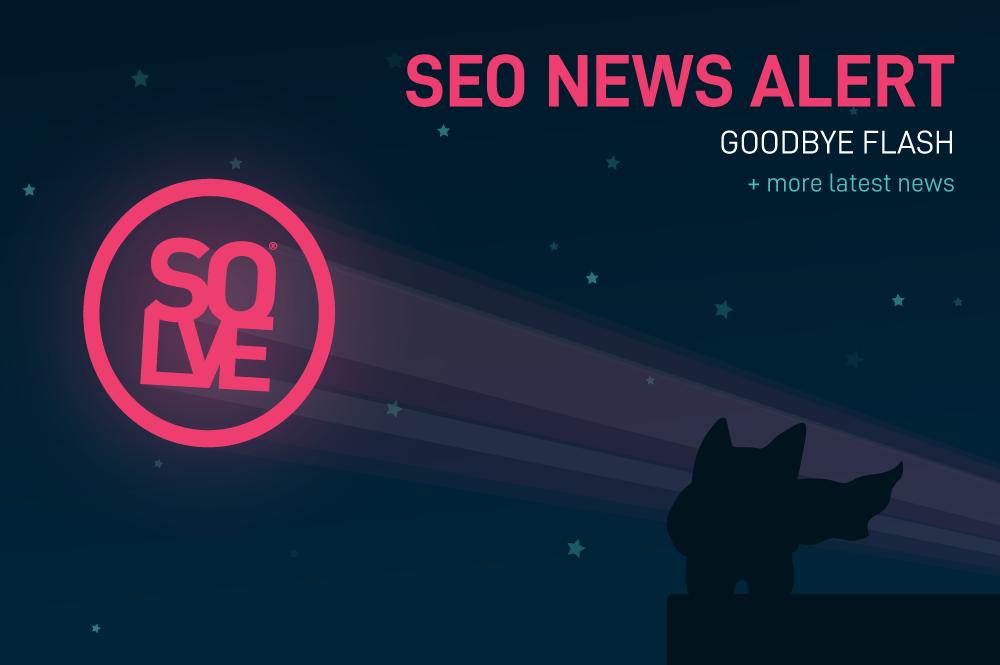 SEO News: Goodbye Flash