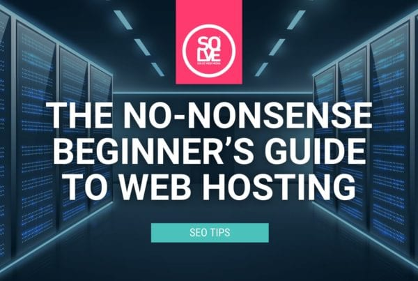 The No-Nonsense Beginner's Guide to Web Hosting 1