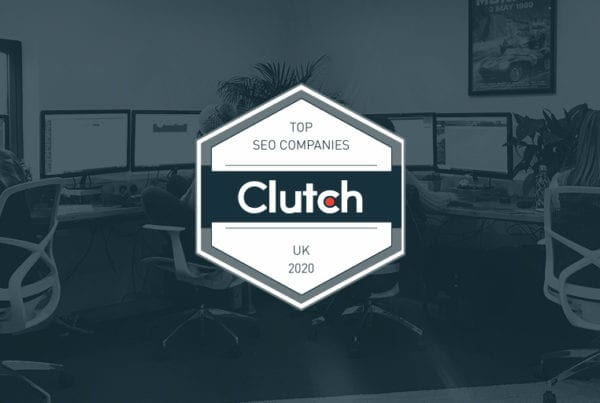 Clutch Top SEO Company Banner