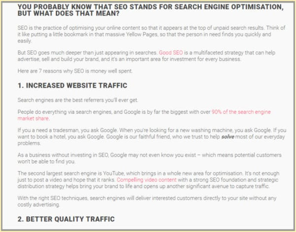 How to Write Top-ranking, Optimised Blog Posts 3
